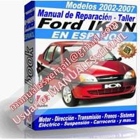 Manual de Reparacion Taller Ford Ikon 2002 2003 2004 2005 2006 2007