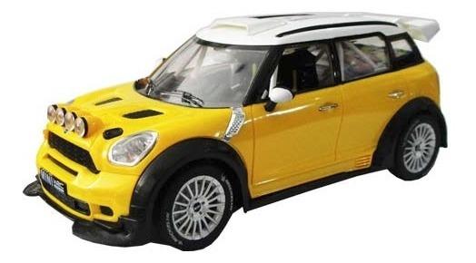 Auto Radio Control Mini Cooper Wrc R60 Interior Escala 1/18