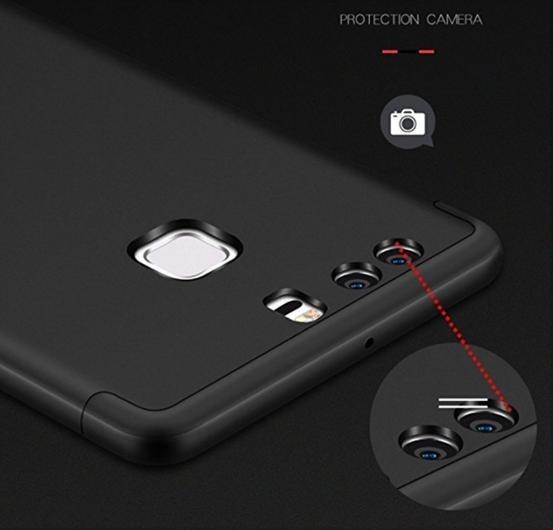 Funda Luxury 360º P/ Huawei P9 Rigida 3 En 1 Anti-impacto
