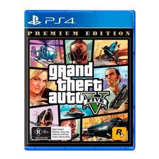 Gta V 5 Grand Theft Auto Ps4 Fisico Sellado Nuevo Original