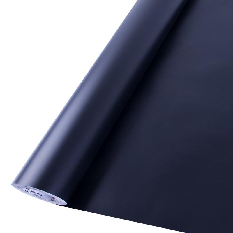 Vinil adesivo Goldmax preto fosco larg. 1,22 m