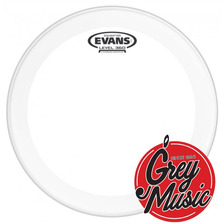 Parches Evans Usa Bd24gb3 24  Eq3 Batter Clear - Grey Music