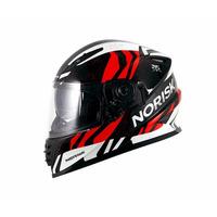 Capacete Norisk FF302 Jungle Vermelho