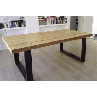 Como hacer una mesa de estilo industrial mesa comedor - Como hacer una mesa estilo industrial ...