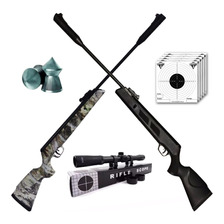 Rifle Aire Comprimido Fox Ultra Black 5.5 Alto Poder - Caza