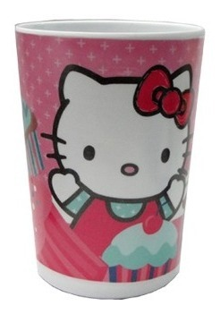 Vaso Plastico 330 Ml. Infantil Hello Kitty Cars Princesas