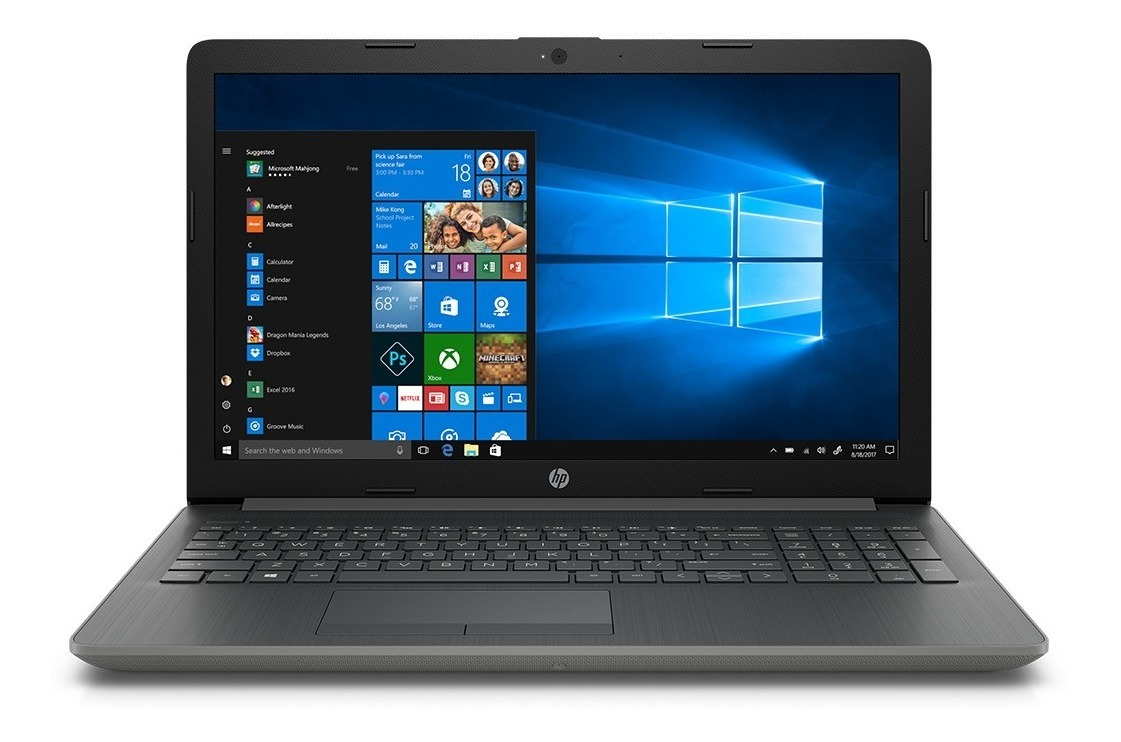Notebook 15 6 Hp 15-da0060la Core I5 8250u 4gb 1tb Windows