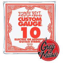 Cuerda Suelta 010 Ernie Ball 1010 Para Guitarra Electrica