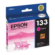 Cartucho Epson 133 Color Magenta Original T133320