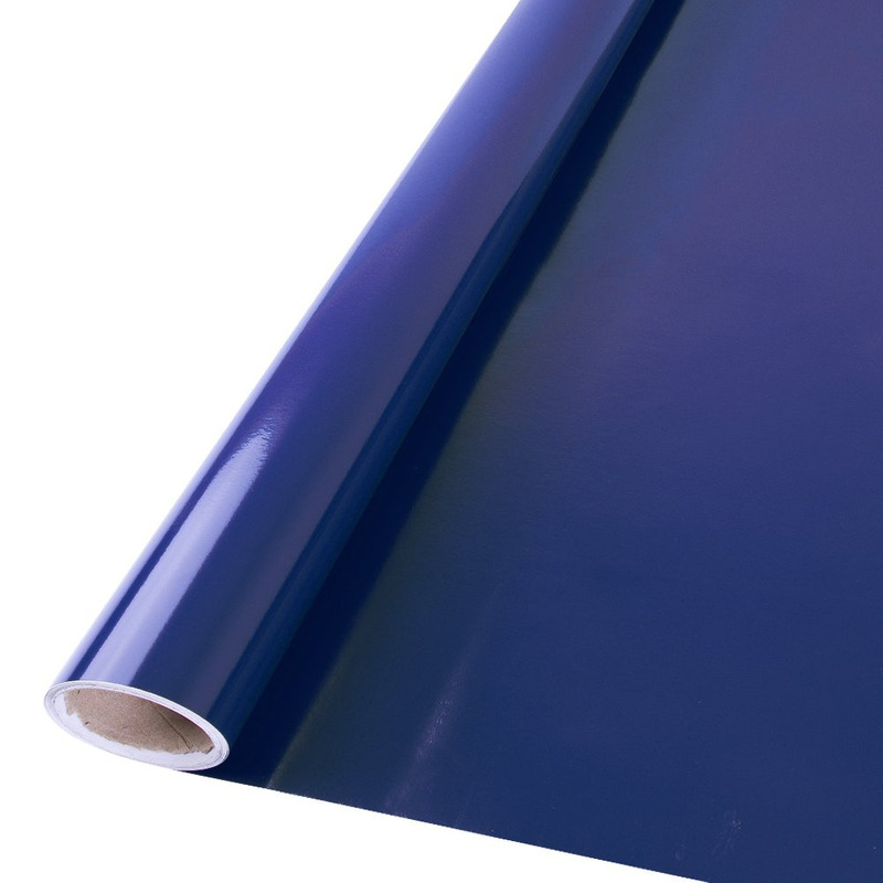 Vinil adesivo Goldmax azul noturno larg. 1,22 m