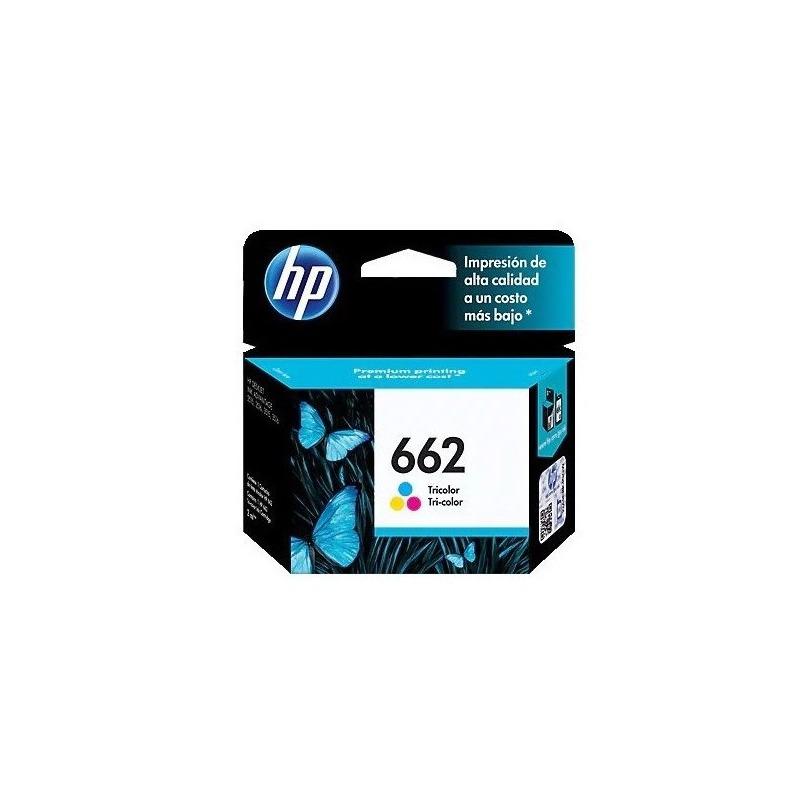 Cartucho De Tinta Color HP 662