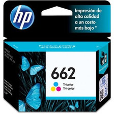 Cartucho Original Hp 662 Color 1515 2515 3515 3545 2645