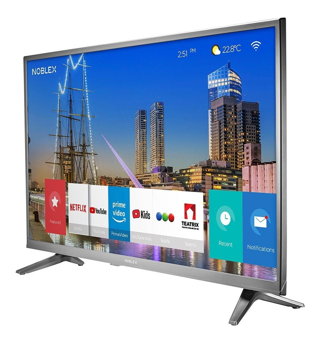 Smart Tv Led 43 Pulg Full Hd Noblex Dj43x5100 Hdmi Tda Wifi