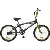 Bicicleta Bmx Rodado 20 tomaselli Freestyle Xt3 Pintada