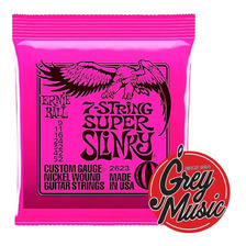 Encordado Guitarra Elect Ernie Ball 2623 7 Cuerdas 09-052