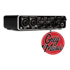 Interface Audio Behringer U-phoria Umc204hd Usb Para Pc