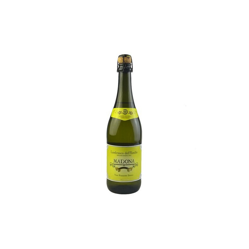 Vinho Frisante Lambrusco Amabile Branco 750ml - Madona