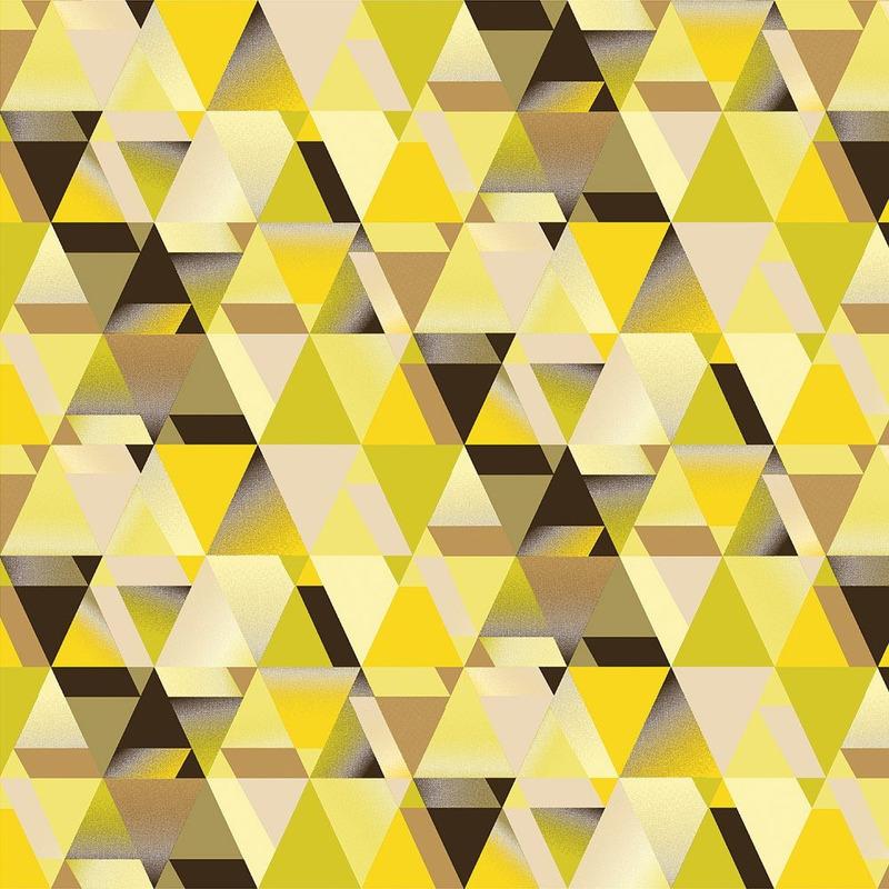 Tecido impermeável Acqua Soleil triângulo evolution ouro