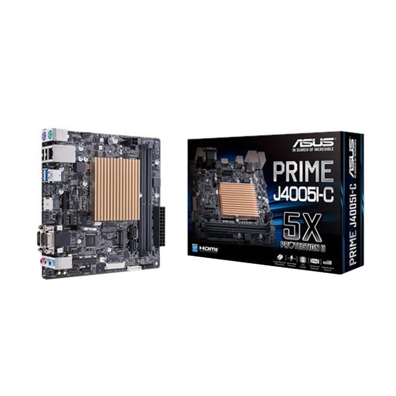 Motherboard con Procesador Intel Integrado ASUS J4005I-C