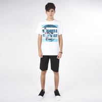 Camisa Blanco Con Estampado 019299