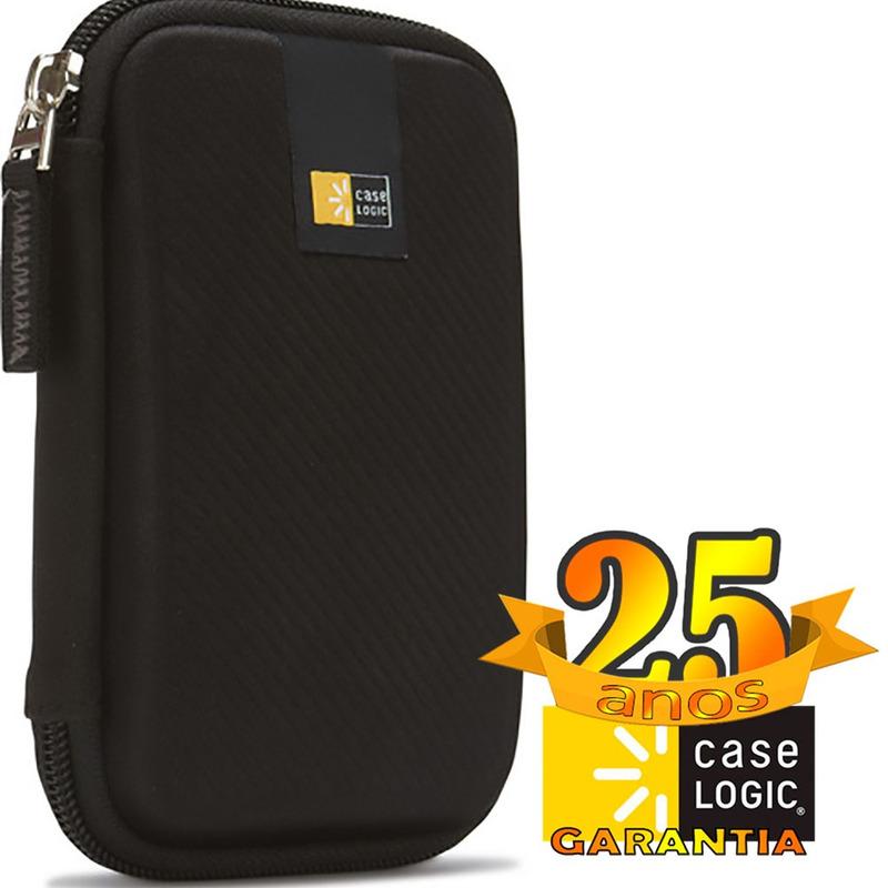 Capa Protetora para HD Externa Case Logic EHDC-101 Original 25 Anos de garantia