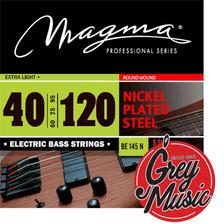 Encordado Magma Be145n De Bajo 040-120 5 Cuerdas