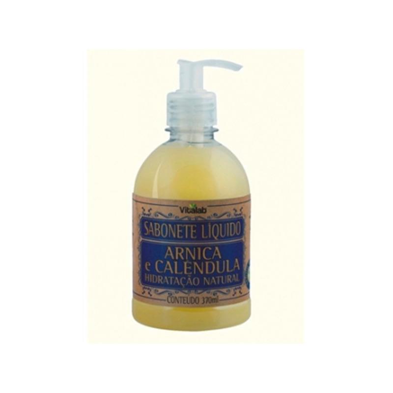 Sabonete Liquido Arnica e Calendula - 370ml Vitalab