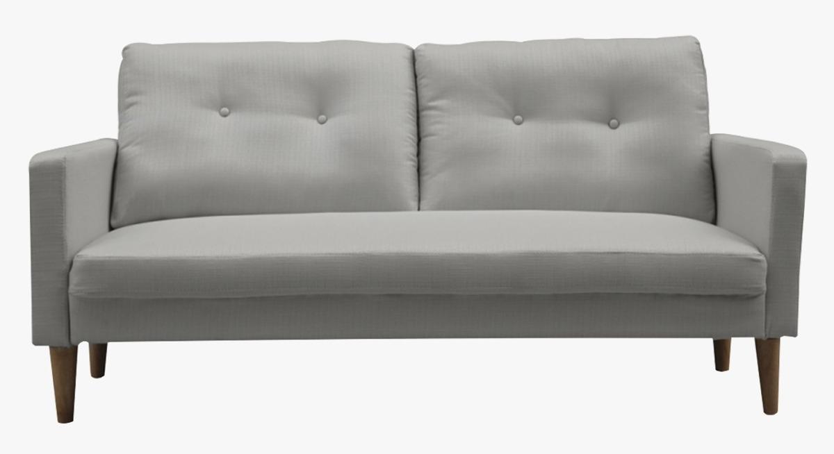 Sofa Lucca Beige/Gris Claro 3 Cuerpos 163 cms.
