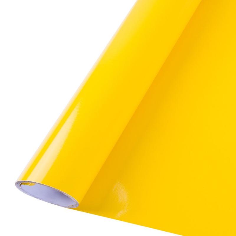 Vinil adesivo colormax amarelo médio larg.1,0 m