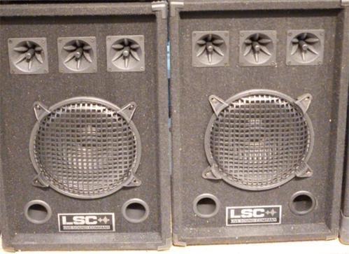 Bafle De Audio Lsc Sp060 Parlante 10 60w 3 Piezo - Portable