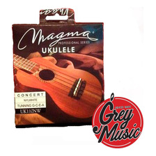 Cuerdas Magma De Ukelele Concierto Uk110nw Nylon White