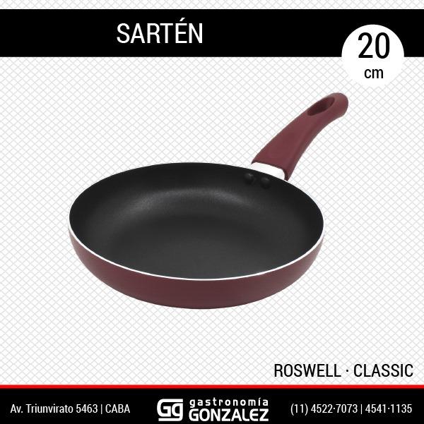 Sartén de teflón Roswell 20