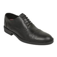 Zapato vestir negro agujetas 018745