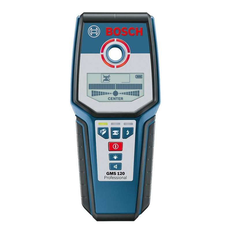 Detector de Metais (Aço e Cobre) - GMS 120 - Bosch