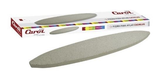 Piedra Para Afilar Cuchillas Carol Afilador Cuchillo En Caja
