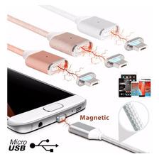 Cable Magnetico Cargador Micro Usb Rapido Samsung Lg Sony
