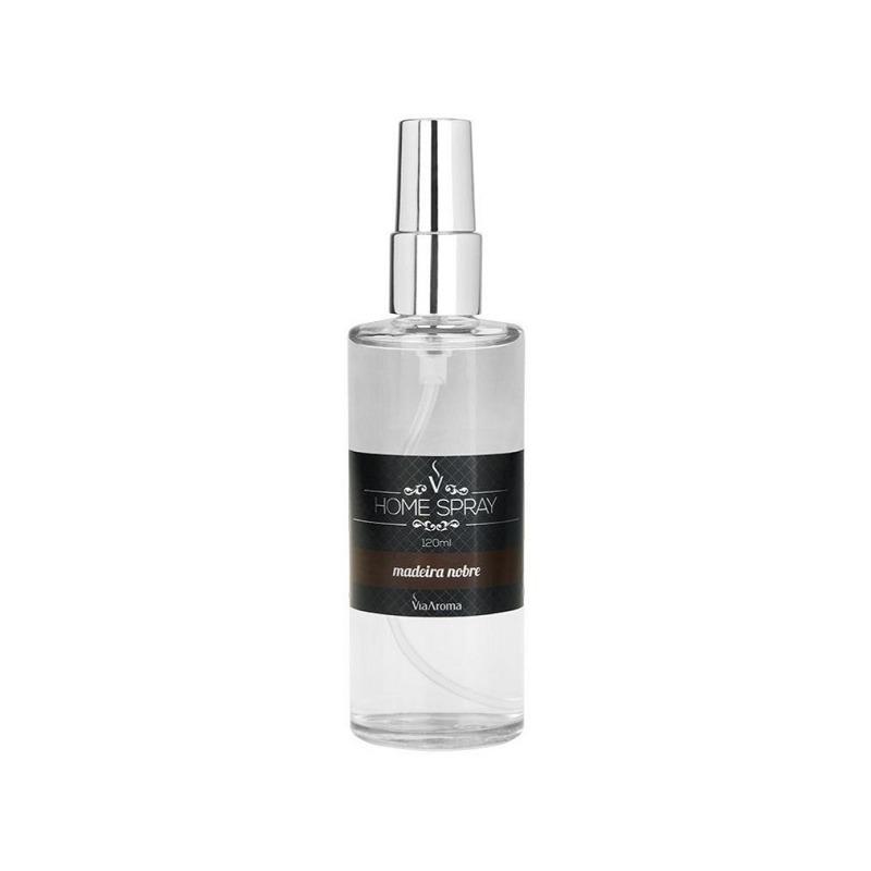 Aromatizador Home Spray Madeira Nobre - 120ml - Via Aroma