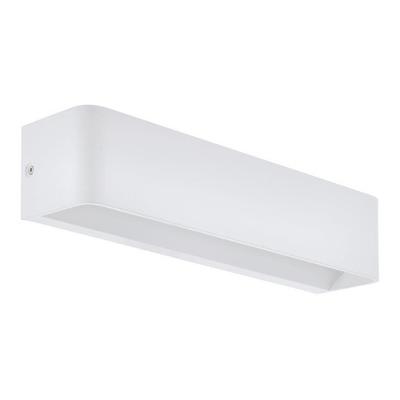 Aplique Pared Led Sania Aluminio Blanco Largo Moderno Eglo