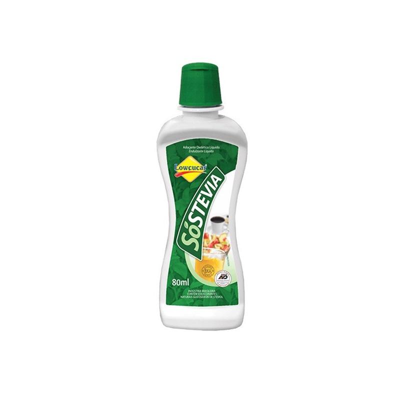 Adocante Liquido SoStevia 100% Natural - 80ml Lowcucar