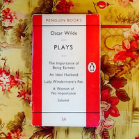 Oscar Wilde.  PLAYS.