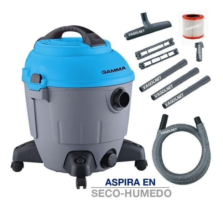 Aspiradora Gamma 35 Litros 1400w C/ Filtro Hepa + Soplador
