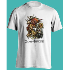 Remeras Estampadas Game Of Thrones