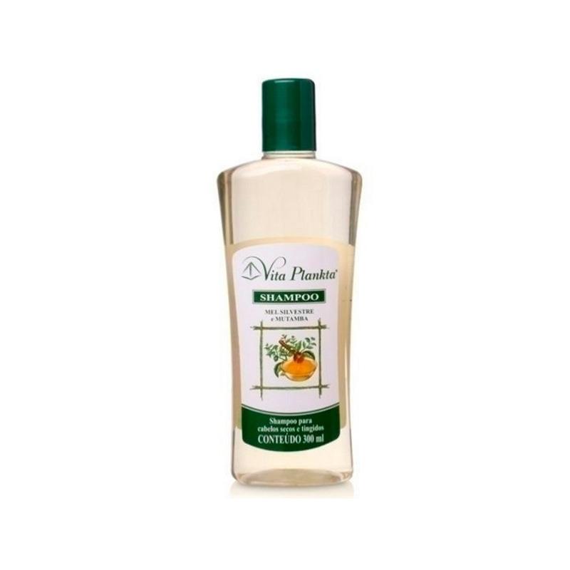 Shampoo Mel e Mutamba para Cab. Secos/Tingidos 300ml Vitalab
