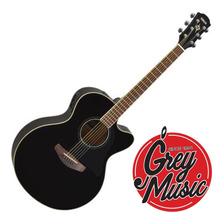 Guitarra Electroacústica Yamaha Cpx600-bk Color Negro