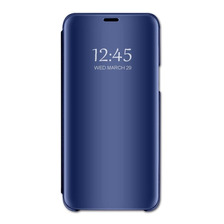 Funda Clear View Flip Cover Standing Samsung J8 Y J6 2018
