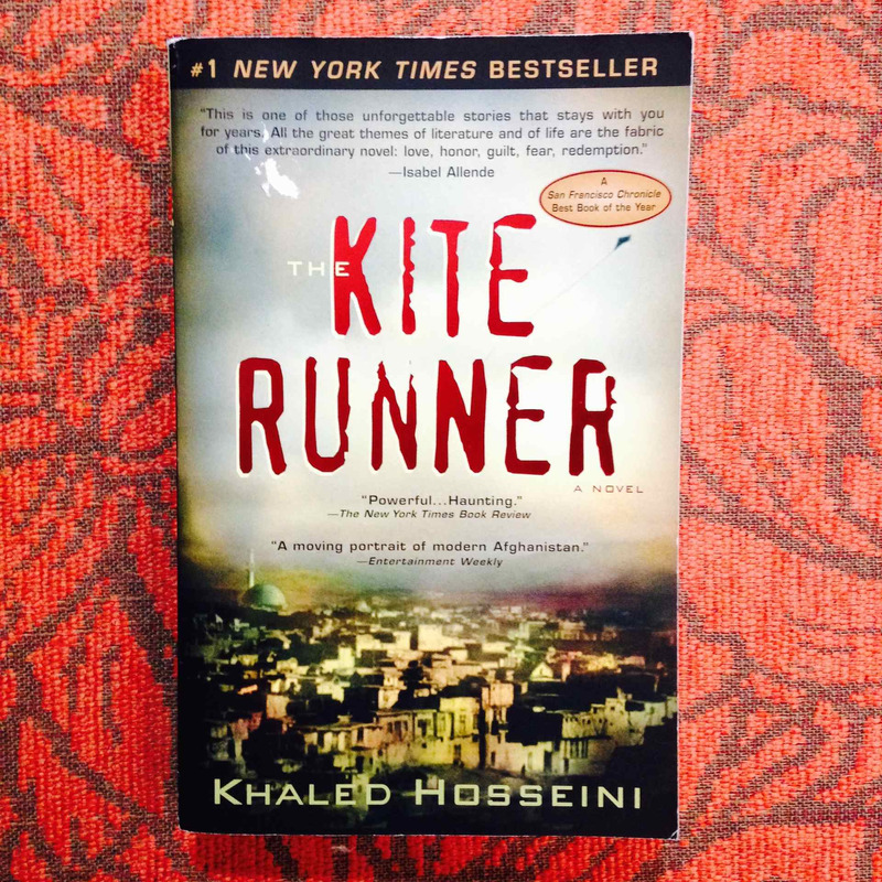 Khaled Hosseini.  THE KITE RUNNER.