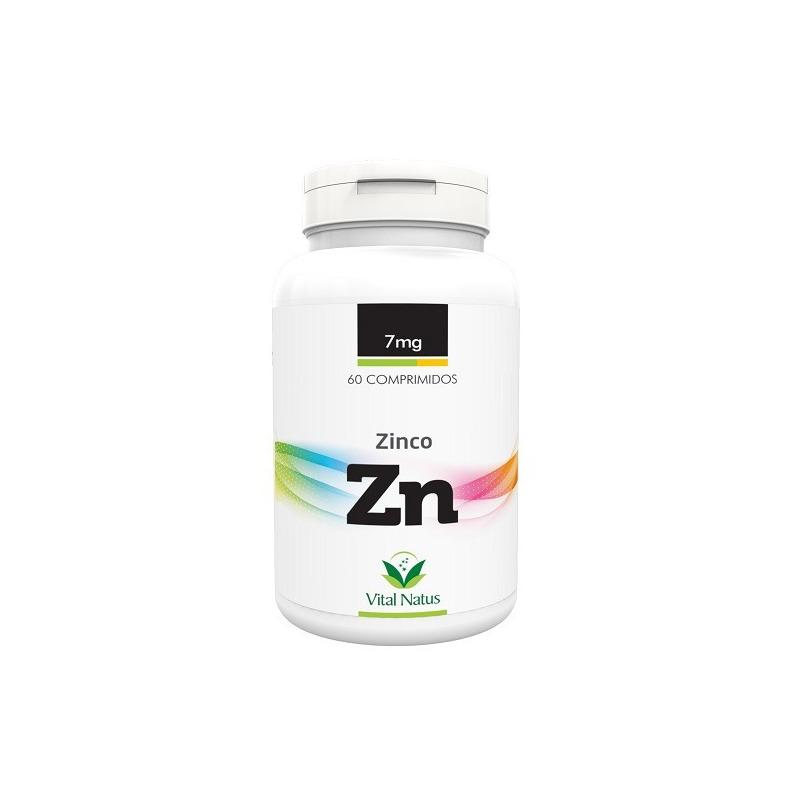 Zinco (Zn) - 60 comprimidos 7mg - Vital Natus