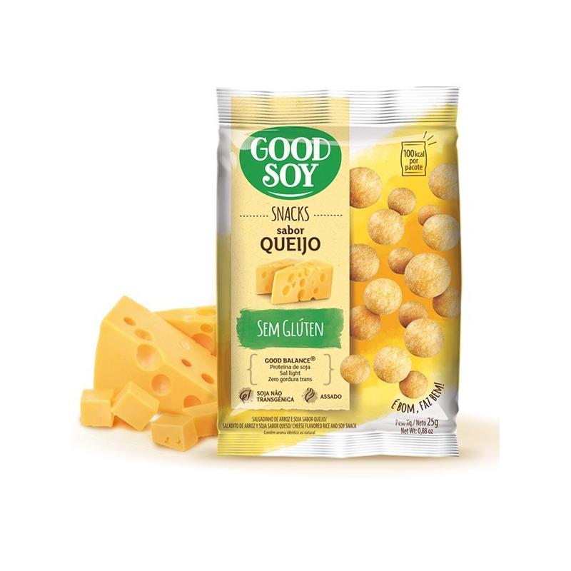 Salgadinho de Soja Snack Queijo - 25g GoodSoy