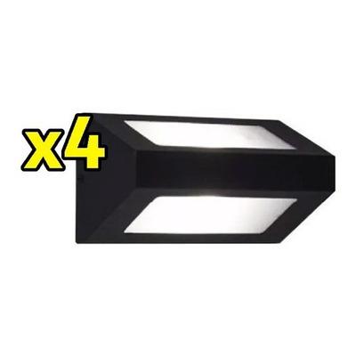 Pack X 4 Difusor Bidireccional Apto Led E27 Exterior Ap101
