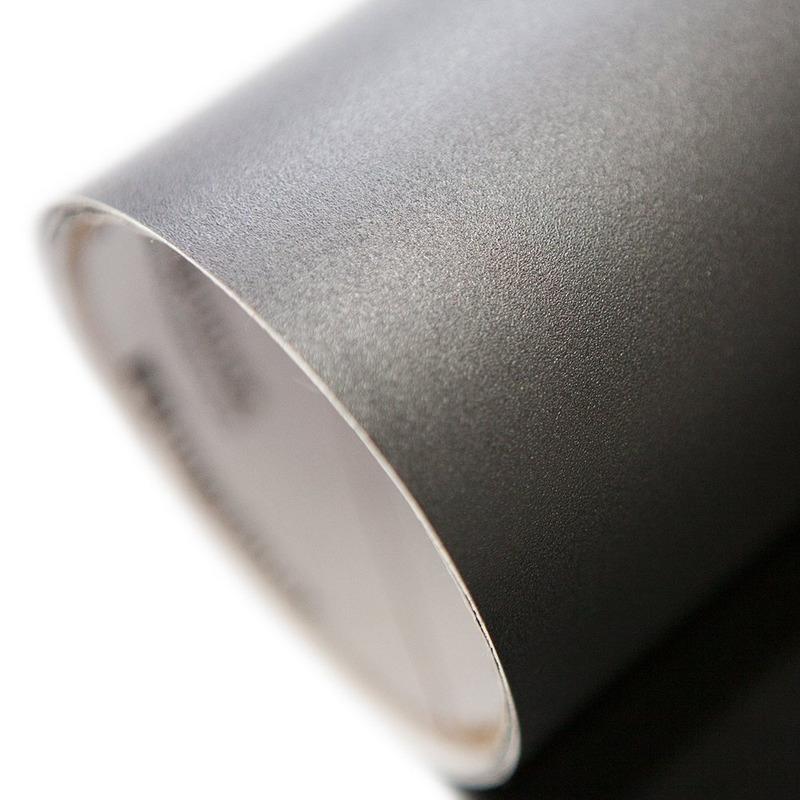 Vinil adesivo jateado opaco preto larg. 1,22 m